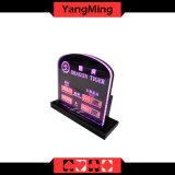 Таблица СИД казина тигра дракона ограничивала знак предела париа таблицы покера знака для игр таблицы Blackjack клуба покера (Ym-LC05)