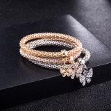 Bijou multicolore de bracelet de seul de femmes de guindineau diamant de Zircon
