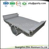 De nieuwe Uitdrijving van het Aluminium van het Ontwerp voor Heatsink met het Anodiseren & CNC het Machinaal bewerken
