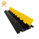 China-Hersteller-flexible 2 Kanal-Gummikabel-Schlauch-Schoner-Rampe