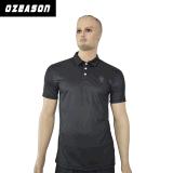 Libérer le T-shirt de polo estampé par Mens en gros fait sur commande de marque de distributeur d'OEM de modèle