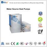 Acqua per ventilare le pompe termiche