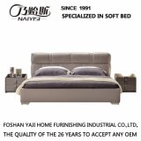 Кровать разборки кожи самомоднейшей конструкции для мебели G7003 гостиной