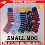 Навальные оптовые цветастые носки платья с высоким качеством