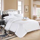 セットされるホテルの織物100%のエジプト綿のサテンの羽毛布団カバー(JRC255)