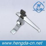 O punho em forma de L da chave do metal da porta de gabinete trava (YH3011)
