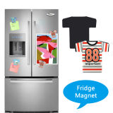 Commerce de gros de la sublimation PVC Vierge Fridge Magnet