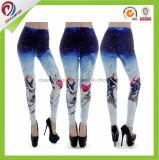 Cuecas apertadas de Legging de 2017 caneleiras feitas sob encomenda da ginástica de mulheres das calças da ioga