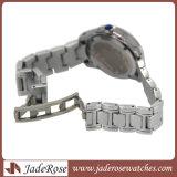 Klassischer Armbanduhr-Form-Armbanduhr-Fleck-Stahluhr