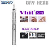 De hoge Verstuiver van het Kruid van de Pen van Vape van de Koning van Vhit van de Strook van de Sigaret van Seego E van het Eind Droge voor Verkoop