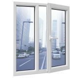 Doble Vidrio aluminio duradero Casement Ventana para Villa