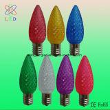 단백석 LED A19는 전구, LED A19 유백색 전구, LED A60에 의하여 서리로 덥은 덮개 빛 램프를 확산했다