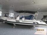 Prix gonflables chinois de bateaux du bateau 660 de la console centrale FRP de Liya