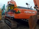 Máquina escavadora original usada da esteira rolante de Japão Hitachi Zx350h para a venda