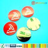Zugriff und Zeit Einlegearbeit des Kennsatzes 13.56kHz Attendency Ntag 203 RFID NFC Aufkleber-Marke