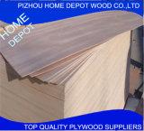 madera contrachapada comercial de la madera de 9m m con precio razonable