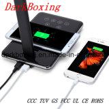 Nuevo cargador de móvil inalámbrico con el estándar Qi para el iPhone 8/8 Plus/X