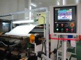 China brachte Drehkopf abwickeln u. rückspulen heiße Schmelzauftragmaschine voran