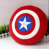 Capitaine neuf Shield Soft Plush Pillow d'arrivée
