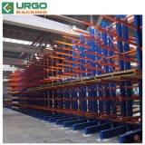 Lado duplo depósito conveniente Rack de armazenamento de aço laminado a frio do operador de paletes