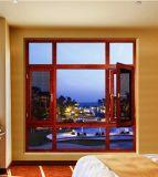 Openslaand raam Van uitstekende kwaliteit van het Aluminium van de Prijs van China het Goedkope