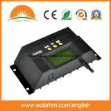 regulador solar de la carga de la visualización de 24V 30A LCD para la Sistema Solar