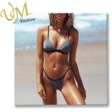 Form-reizvolle Kontrast-Farben-Bikini-Badebekleidungs-Strand-Abnützung