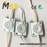 Disipador de calor 2.8W la luz de LED impermeable para el módulo de doble cara caja de luz LED 3535 Iniciar sesión