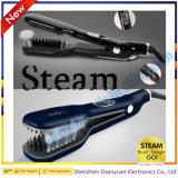 Enderezadora del pelo del vapor para el uso personal