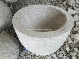 Granit-Garten-Stein-Pflanzer-/Stone-Vase/Blumen-Potenziometer