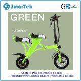 Bici ad alta velocità di Ebike di spinta elettrica di piegatura della bicicletta della città della gioventù di Smartek con 10inch la gomma posteriore P13