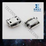 Micro connettore della presa a parete del USB 5pin 0504