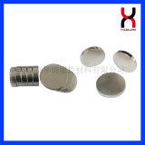Forma redonda de tamanho grande NdFeB magneto com revestimento de níquel Ce/RoHS Certified