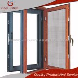 Un design classique chercher du bois d'aluminium Fenêtre à battant à double vitrage