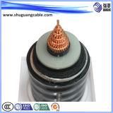 Изолированный PVC сердечников Vvt 4+1 и обшил концентрический силовой кабель проводника