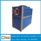 Réfrigérateur refroidi par air industriel de circuits de refroidissement de défilement