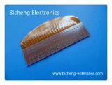 Stiffener Dikte 1.0mm de Enige Opgeruimde Flexibele Raad van het Koper van PCB FPC