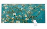 Grandes esteiras impermeáveis materiais de Mousepad do jogo da mesa da borracha natural de almofada de rato do tamanho