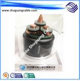 Обшитая лента Screened/PE Insulated/PVC Cu/кабель компьютера/аппаратуры