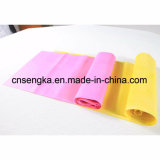 200*15cm de Látex de color rosa Correa Yoga bandas Fitness Workout Fitness bandas