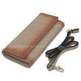 Signora Wallet Woman Wallet della rampa di pendenza con la borsa della donna dei dispositivi di piegatura del sacco per cadaveri tre della traversa della cinghia