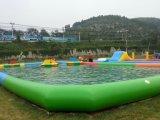 Riesige Werbung Belüftung-aufblasbarer Wasser-Swimmingpool mit aufblasbaren Wasser-Spielwaren