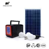 Система Paygo горячего режима сбывания 30W допустимый SMS солнечная домашняя для работы и изучать