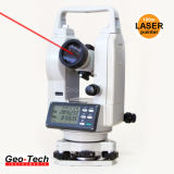 Теодолит теодолита лазера производя съемку аппаратуры качества электронный (GTH-02L)