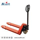 手動油圧Forklifthandのバンドパレットのゴム車輪
