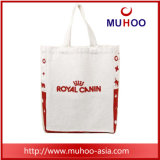 流行の白いキャンバスの戦闘状況表示板のハンドバッグの綿のショッピング・バッグ