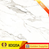 La porcelana de mármol blanca del diseño del alto grado embaldosa los azulejos de la pared (8D020A)
