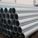 ERW Material-Aufbau-Schwarzes galvanisiertes Stahlrohr