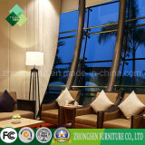 Estilo árabe Solid Wood Hotel Conjunto de sala de estar de mobiliário (ZSTF-26)