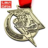Medaglia su ordinazione poco costosa all'ingrosso della barca del drago del ricordo del premio di sport del metallo